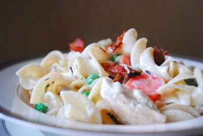 Creamy Chicken Pasta And A Little Fashion Dilemma