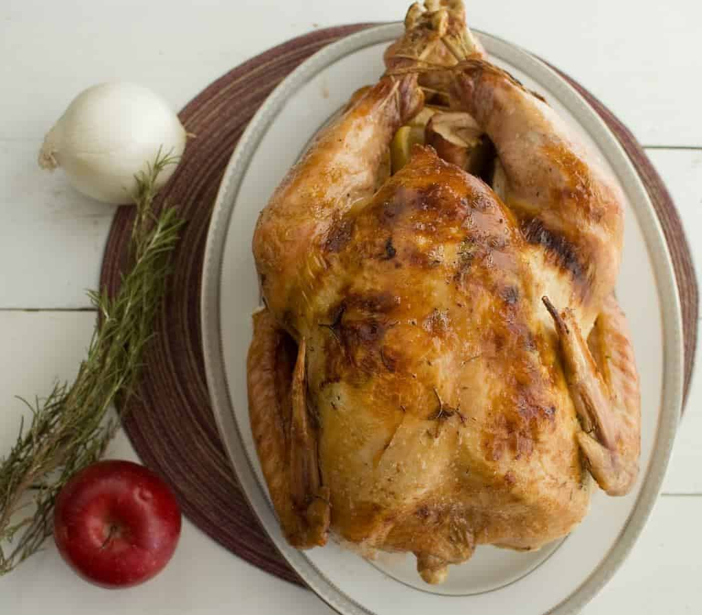 Herb Buttered Turkey