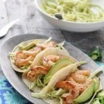 Shrimp Tacos with Jalapeno Slaw