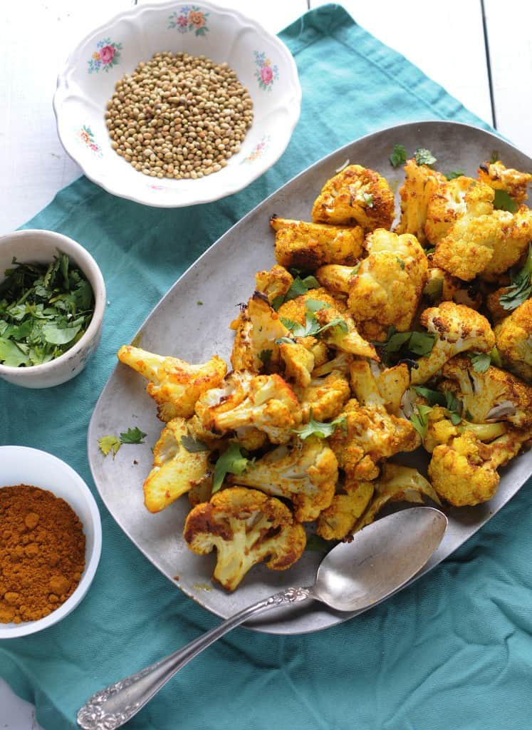 Curried Cauliflower