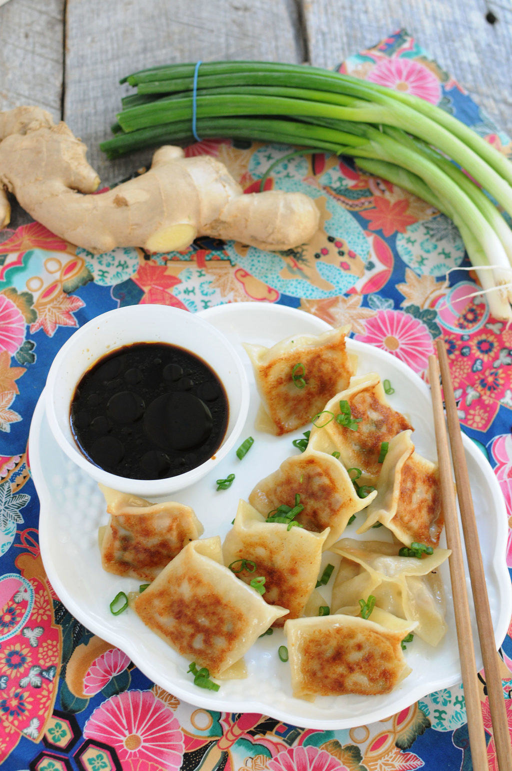 Make Ahead Pork Potstickers